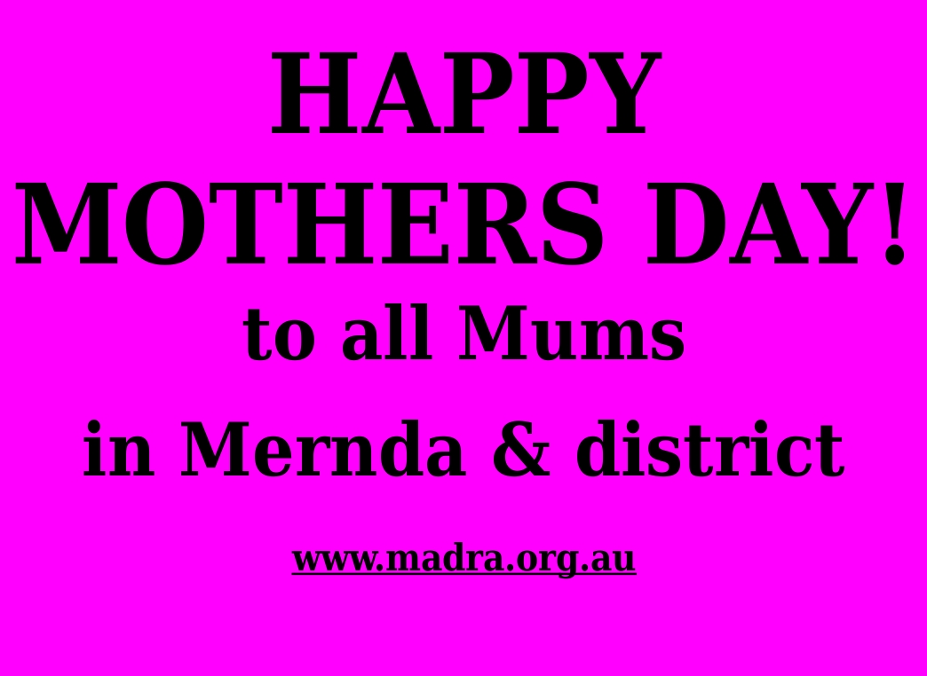 Hapy Mothers Day!